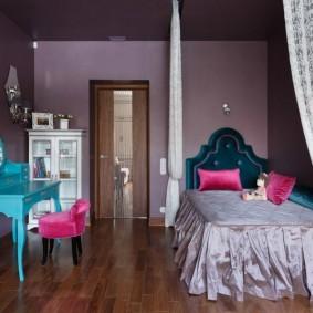 расстановка мебели в детской фото интерьера