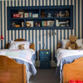 расстановка мебели в детской идеи оформления