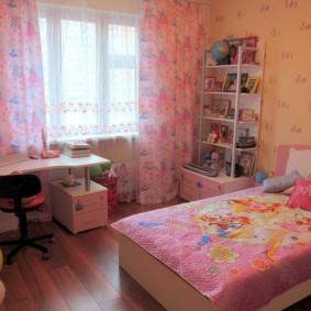 расстановка мебели в детской фото варианты