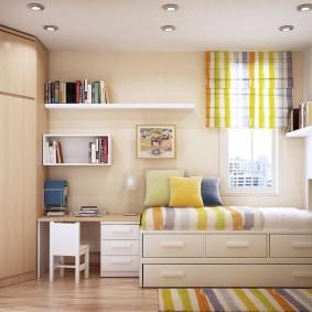расстановка мебели в детской идеи варианты