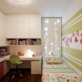 расстановка мебели в детской идеи вариантов