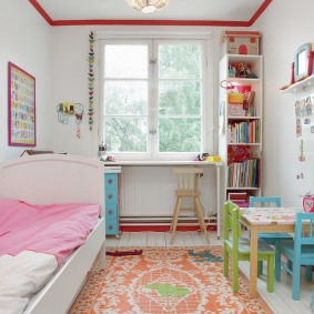 расстановка мебели в детской виды фото