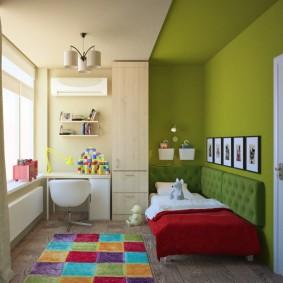 расстановка мебели в детской фото виды