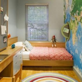 расстановка мебели в детской виды идеи