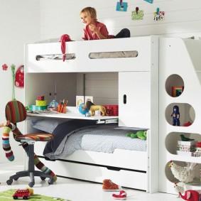 расстановка мебели в детской идеи виды