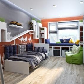 расстановка мебели в детской обзор