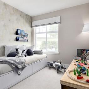 расстановка мебели в детской дизайн фото