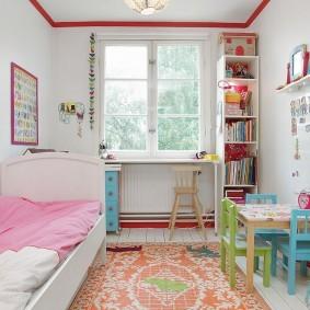 расстановка мебели в детской фото дизайн