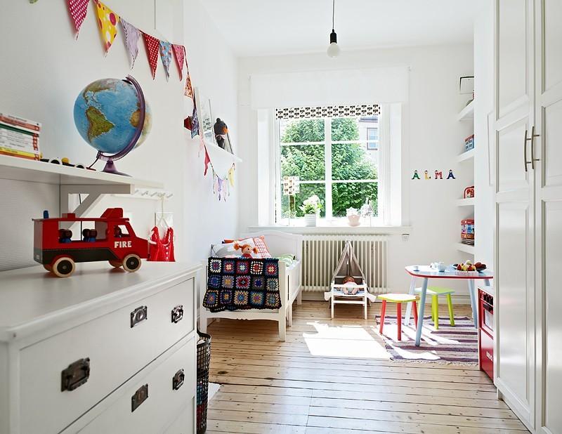 расставляем мебель в детской