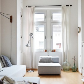 ремонт однокомнатной квартиры варианты идеи