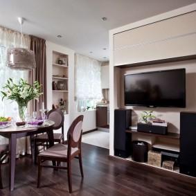 ремонт однокомнатной квартиры идеи вариантов