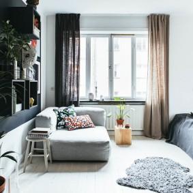 ремонт однокомнатной квартиры виды