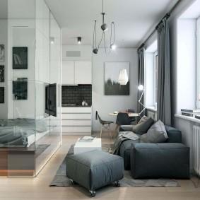 ремонт однокомнатной квартиры оформление фото