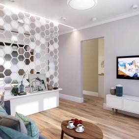 ремонт однокомнатной квартиры виды оформления