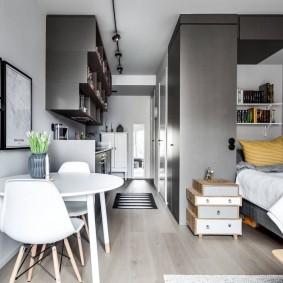 ремонт однокомнатной квартиры дизайн фото