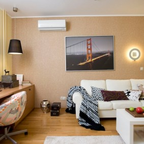 ремонт однокомнатной квартиры фото дизайна