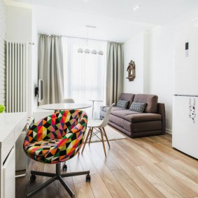ремонт однокомнатной квартиры дизайн идеи