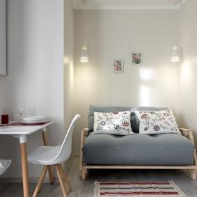 ремонт однокомнатной квартиры декор