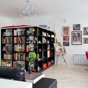 ремонт однокомнатной квартиры декор идеи