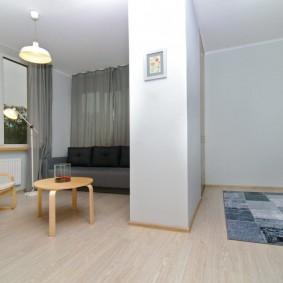 ремонт однокомнатной квартиры идеи декор