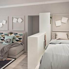 ремонт однокомнатной квартиры идеи оформления