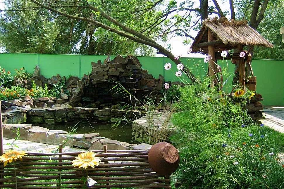 садовый участок 6 соток деревенский стиль