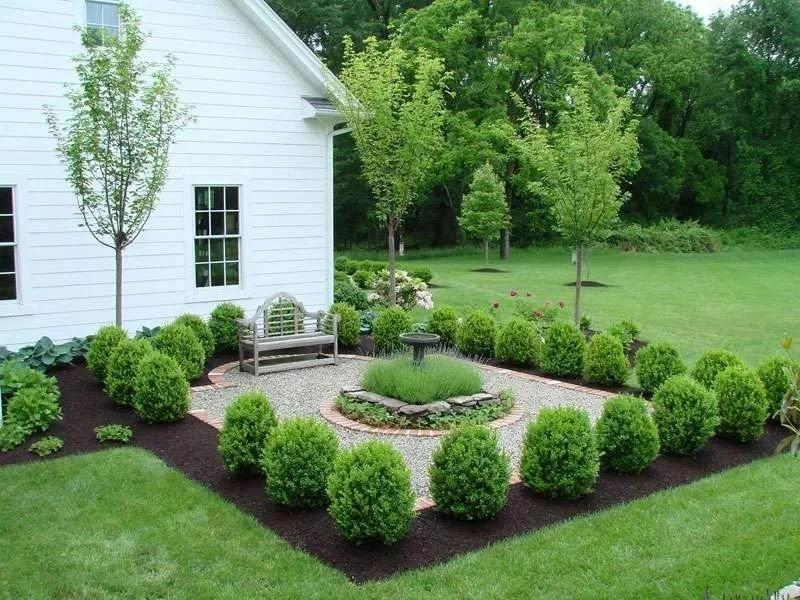 садовый участок 6 соток французский стиль