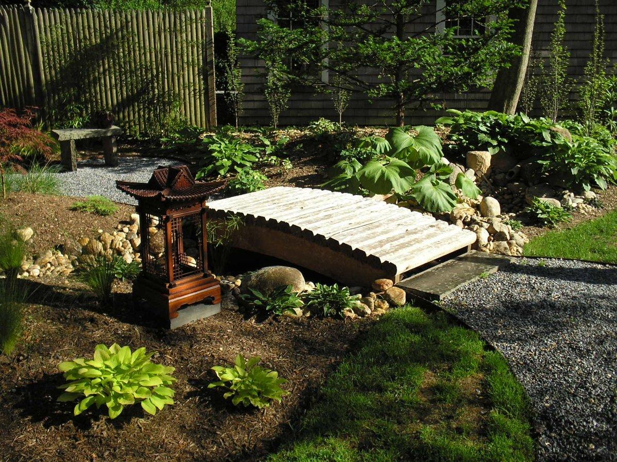 садовый участок 6 соток японский стиль фото идеи