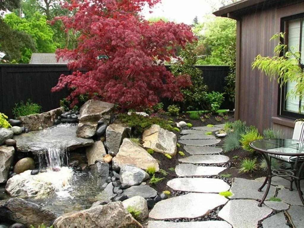 садовый участок 6 соток японский стиль фото