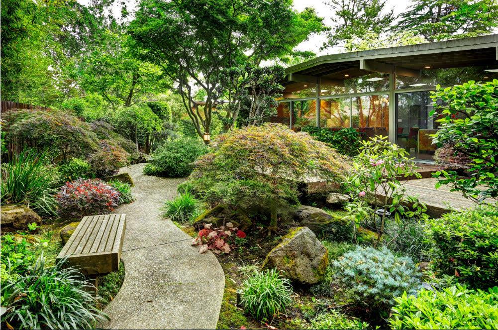 садовый участок 6 соток японский стиль идеи фото