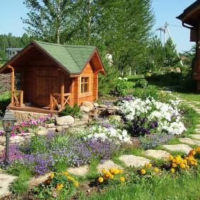 садовый участок 6 соток идеи