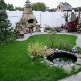 садовый участок площадью 6 соток фото дизайна