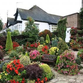 садовый участок площадью 6 соток фото декора