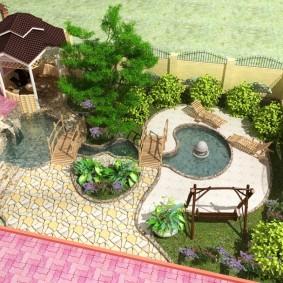 садовый участок площадью 6 соток фото