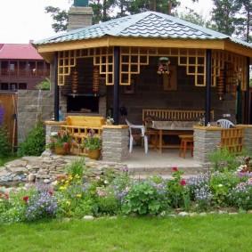 садовый участок площадью 6 соток оформление