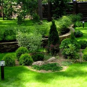 садовый участок площадью 6 соток оформление идеи