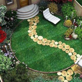 садовый участок площадью 6 соток идеи
