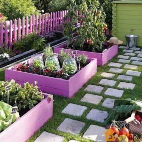 садовый участок площадью 6 соток виды дизайна
