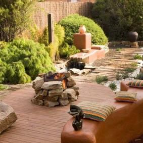 садовый участок площадью 6 соток виды декора