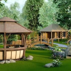 садовый участок площадью 6 соток идеи проект