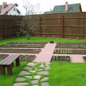 садовый участок площадью 6 соток дизайн