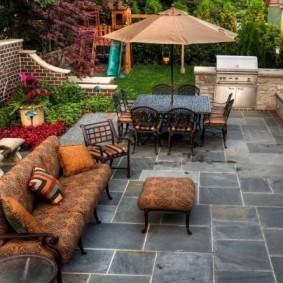 садовый участок площадью 6 соток дизайн фото