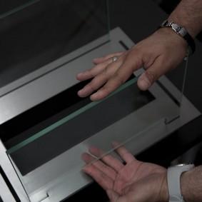 Сборка стеклянного корпуса биокамина