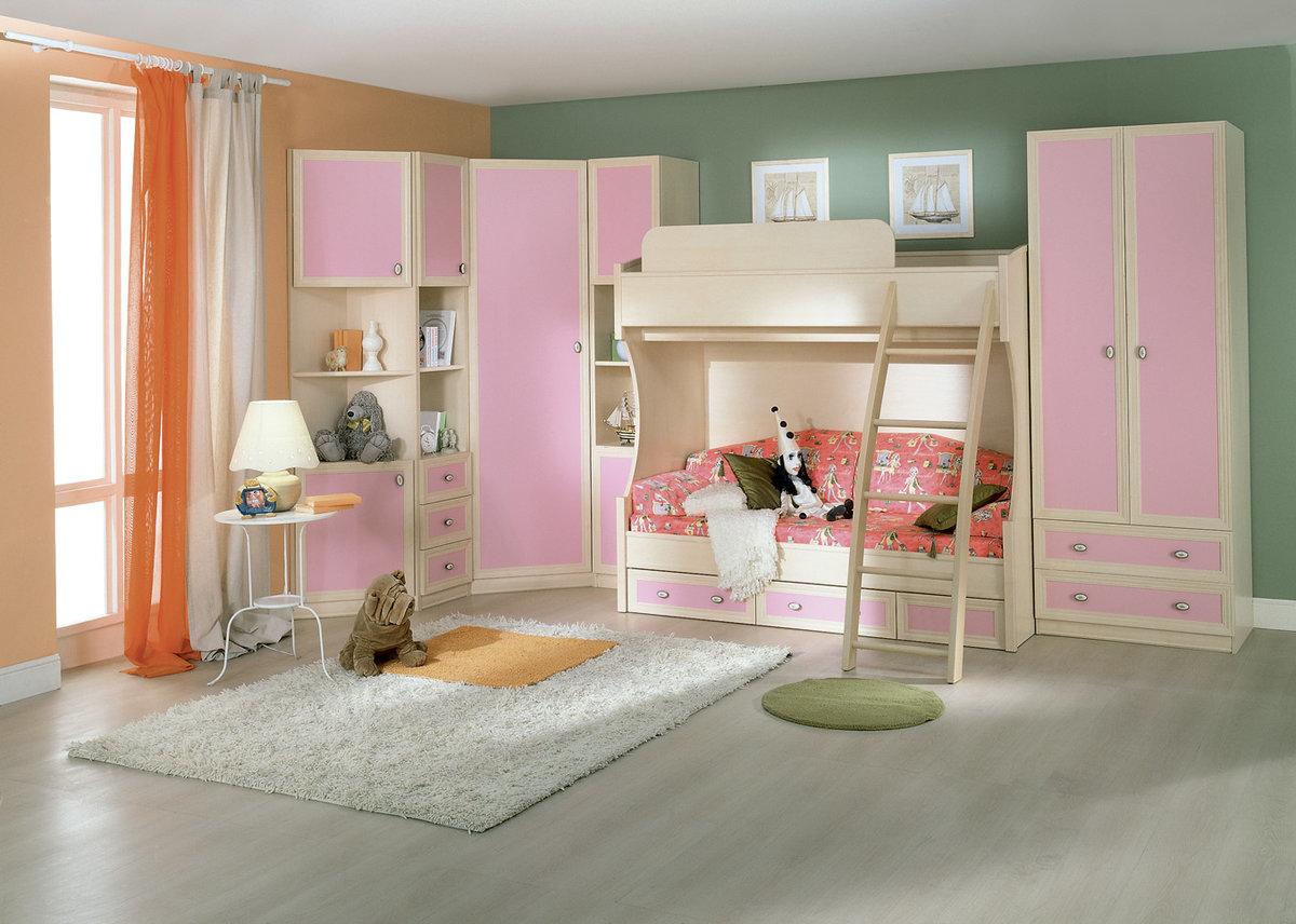 шкаф кровать в детскую комнату