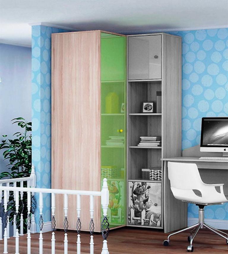 шкаф пенал в детску комнату