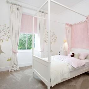 шторы в детскую комнату дизайн идеи