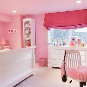 шторы в детскую комнату идеи дизайн