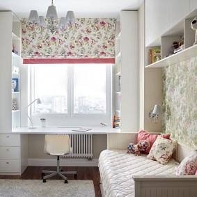 шторы в детскую комнату фото декор