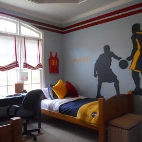 шторы в детскую комнату идеи декора