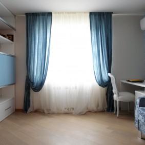 шторы в детскую комнату фото интерьер